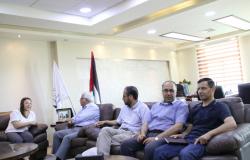 جامعة بوليتكنك فلسطين تستقبل مديرة مكتب مؤسسة الداد الألمانية